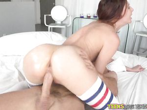 Cutie Tries To Swallow Cock Before Getting Fucked