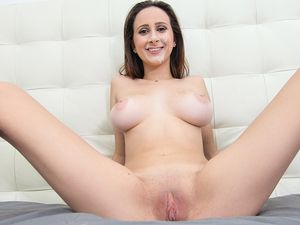 Gorgeous D Cup Titties On A Face Riding Cock Slut