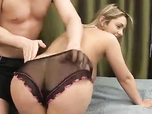 Chubby Babe Blows And Bones Her Man Passionately