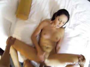 Hotel Hottie Puts On Lingerie To Dazzle Her Man