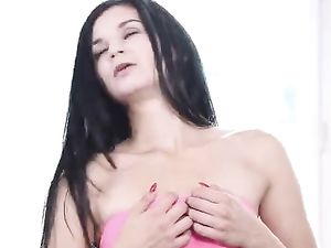 Petite Girl Next Door Masturbates With Her Fingers And Toy