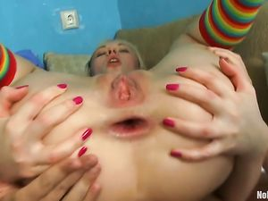 Cute Chick Is A Total Anal Whore For His Thick Cock