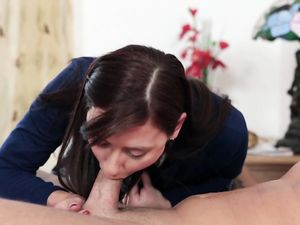 Religious Girl Sins With A Cock In Her Tight Asshole