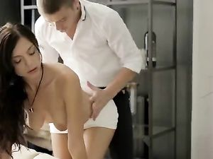 Wine Loosens Up His Lady For Incredible Anal Sex