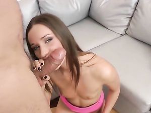 Cute Russian Girl Anally Stretched By A Fat Cock