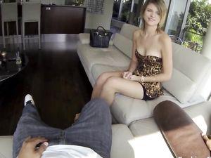 Slutty Teen Escort Takes His Cock Balls Deep In Her Cunt