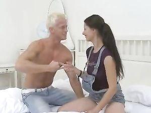 Leggy Brunette Girl Next Door Fucked With Passion