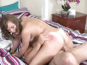 Teenager And Her Tight Pussy Riding A Big Cock