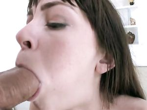 Drilling Skinny Hannah Hartman With His Big Cock