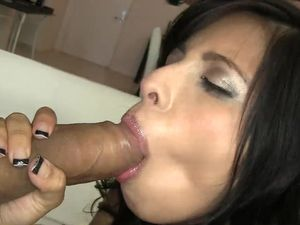 Latina Spinner Sits On A Big Dick And Rides It Hardcore
